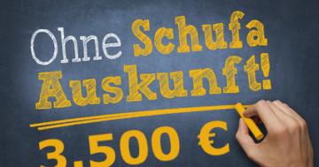 3500 Euro Schweizer Kredit; schweizer-kredit.com